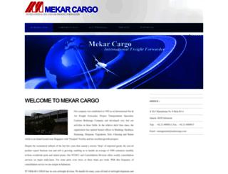 mekarcargo.com screenshot