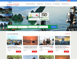 mekongcruises.vn screenshot