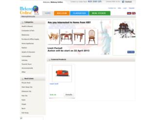 mekongonline.asia screenshot