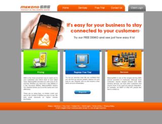 mekongsms.com screenshot