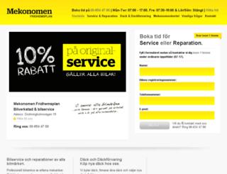 mekonomen-verkstad.se screenshot