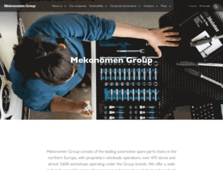 mekonomen.com screenshot