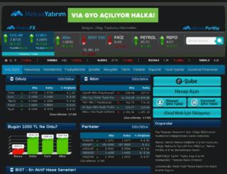 meksayatirim.com screenshot