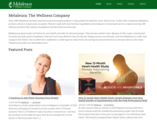 melaleucajournal.com screenshot