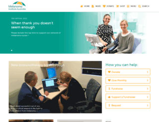 melanoma.org.au screenshot