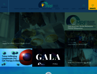 melanoma.org screenshot
