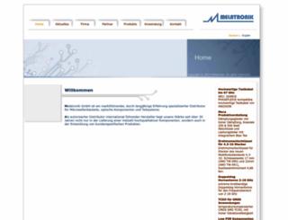 melatronik.de screenshot