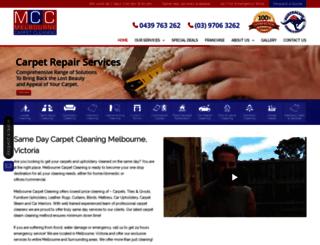 melbcarpetcleaning.com.au screenshot