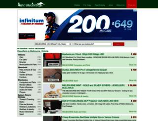 melbourne-vic.australialisted.com screenshot