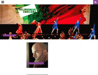 melbournefestival.com.au screenshot
