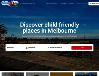 melbourneforkids.com.au screenshot