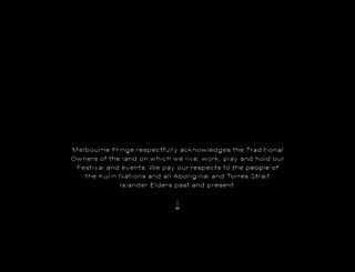 melbournefringe.com.au screenshot