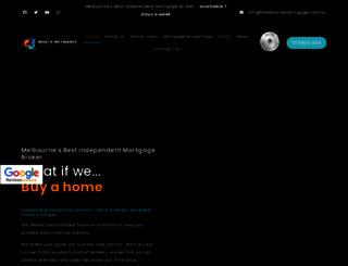 melbournemortgage.com.au screenshot