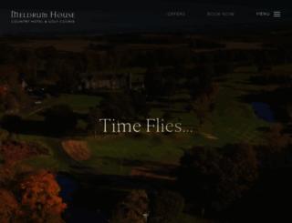 meldrumhouse.com screenshot