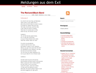 meldungen-aus-dem-exil.noblogs.org screenshot