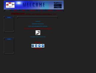 melecom.com.au screenshot