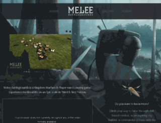 melee.org screenshot