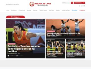 melhordovolei.com.br screenshot