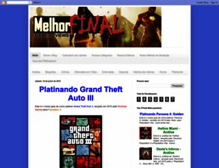 melhorfinal.blogspot.com.br screenshot