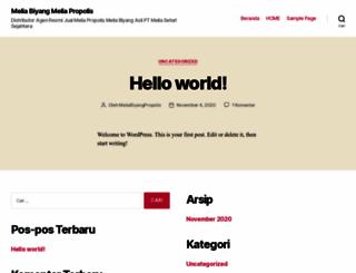 meliabiyangpropolis.com screenshot