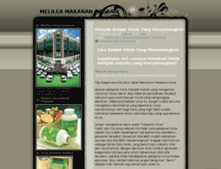 melilea021.wordpress.com screenshot