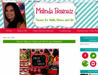 melindabesinaiz.blogspot.com screenshot