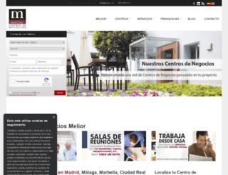 melior.es screenshot