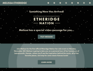 melissa-etheridge.wun.io screenshot