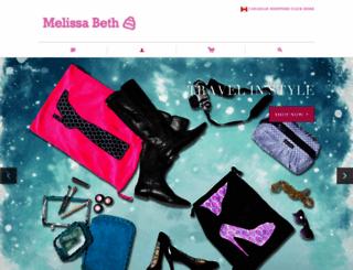 melissabethdesigns.com screenshot