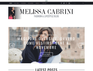 melissacabrini.com screenshot