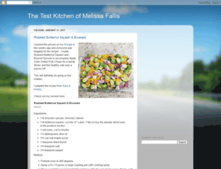 melissafallistestkitchen.blogspot.com screenshot