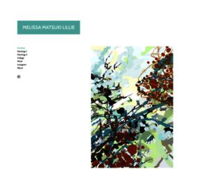 melissalillie.com screenshot