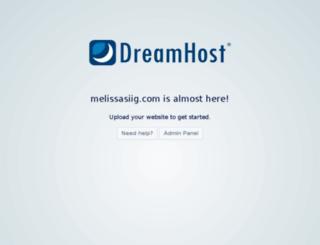 melissasiig.com screenshot
