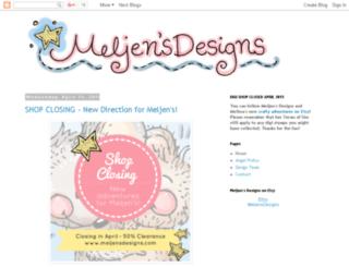 meljensdesignsdt.blogspot.com screenshot