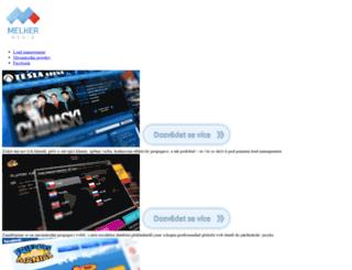 melkermedia.cz screenshot