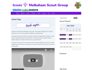 melksham-scouts.org.uk screenshot