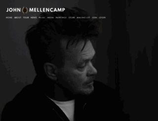 mellencamp.com screenshot