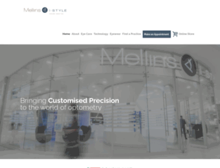 mellins.co.za screenshot