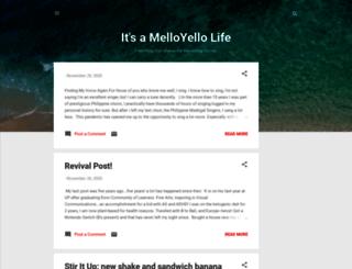 melloyellolife.blogspot.com screenshot