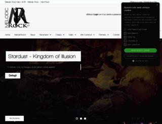 melodicrock.it screenshot