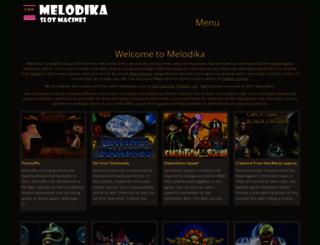 melodika.net screenshot