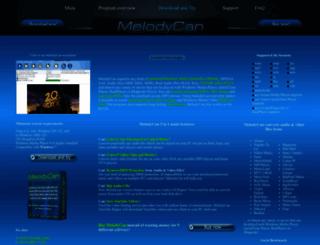 melodycan.com screenshot