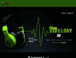 melodysyria.com screenshot