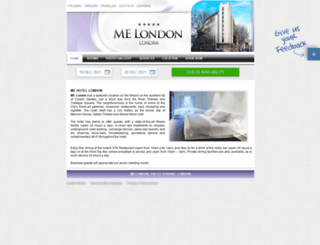melondon.londonhotels.it screenshot