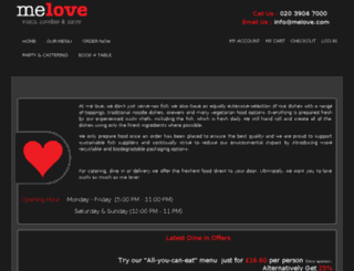 melovesushi.com screenshot
