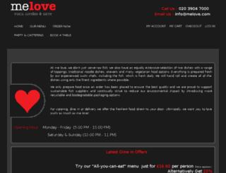 melovesushi.com screenshot