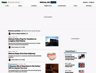 melrose.patch.com screenshot