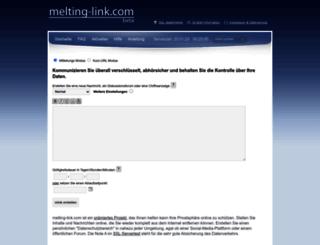 melting-link.com screenshot