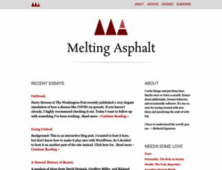 meltingasphalt.com screenshot