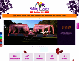 meltingflowers.com screenshot